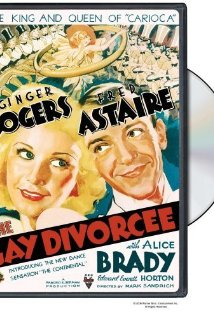 The Gay Divorcee 1934 poster