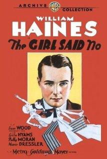 The Girl Said No 1930 poster