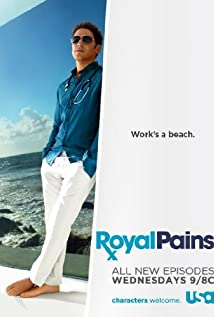 Royal Pains (2009) cover