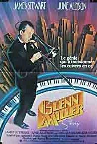 The Glenn Miller Story 1954 poster