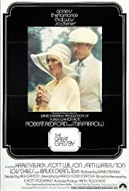 The Great Gatsby (1974) cover