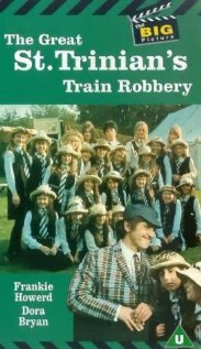 The Great St. Trinian's Train Robbery (1966) cover