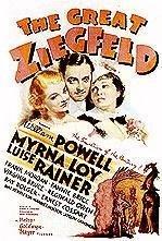 The Great Ziegfeld 1936 poster