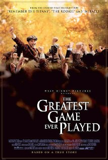The Greatest Game Ever Played 2005 poster