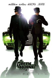 The Green Hornet (2011) cover
