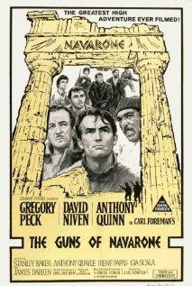 The Guns of Navarone (1961) cover