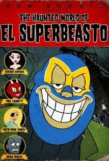 The Haunted World of El Superbeasto (2009) cover