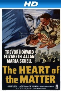 The Heart of the Matter (1953) cover
