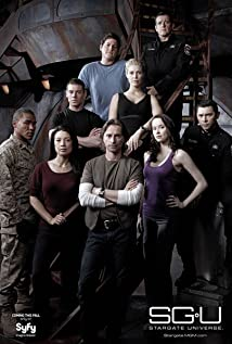 SGU Stargate Universe 2009 poster