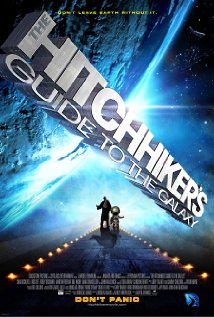 The Hitchhiker's Guide to the Galaxy (2005) cover