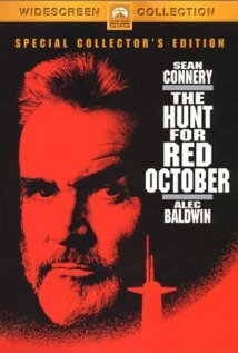 The Hunt for Red October (1990) cover