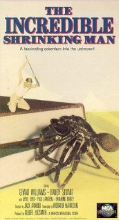 The Incredible Shrinking Man (1957) cover