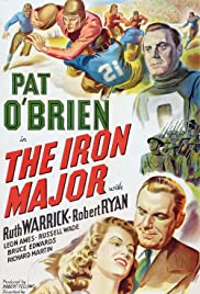 The Iron Major (1943) cover