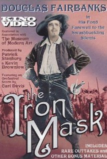 The Iron Mask (1929) cover