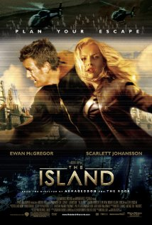 The Island 2005 poster
