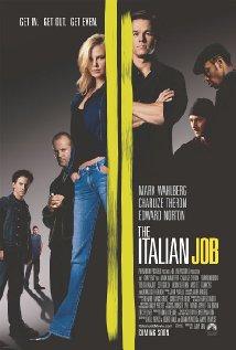 The Italian Job (2003) cover