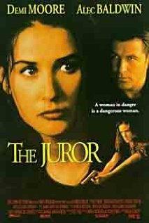 The Juror 1996 poster