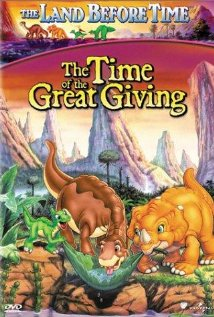 The Land Before Time III: The Time of the Great Giving (1995) cover