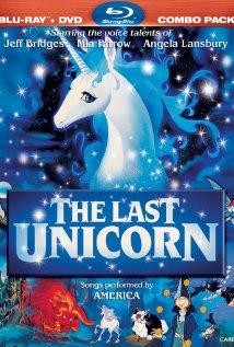 The Last Unicorn (1982) cover