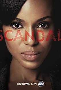 Scandal 2012 poster