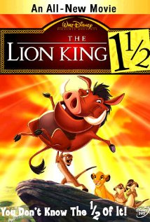 The Lion King 1½ (2004) cover