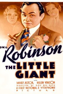 The Little Giant (1933) cover