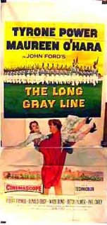The Long Gray Line (1955) cover