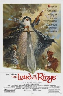 The Lord of the Rings (1978) cover