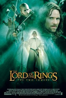 The Lord of the Rings: The Two Towers 2002 poster