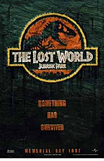 The Lost World: Jurassic Park 1997 poster