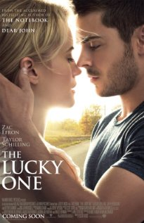 The Lucky One (2012) cover