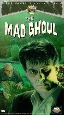 The Mad Ghoul (1943) cover