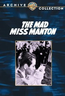 The Mad Miss Manton 1938 poster