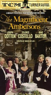 The Magnificent Ambersons (1942) cover