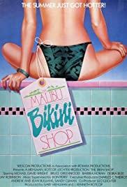 The Malibu Bikini Shop (1986) cover