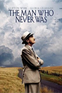The Man Who Never Was 1956 poster
