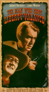 The Man Who Shot Liberty Valance (1962) cover