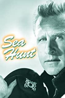 Sea Hunt 1958 poster