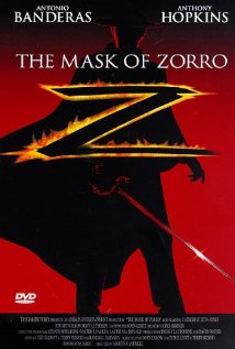 The Mask of Zorro (1998) cover
