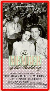 The Member of the Wedding 1952 poster