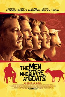 The Men Who Stare at Goats 2009 poster