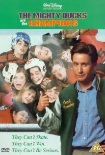 The Mighty Ducks 1992 poster