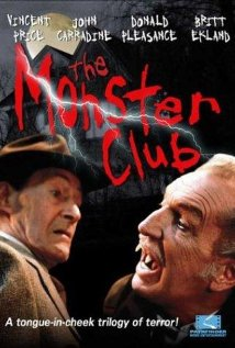 The Monster Club 1981 poster