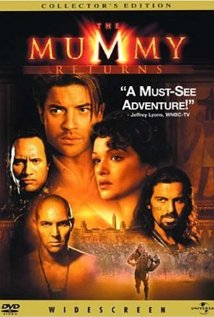 The Mummy Returns (2001) cover