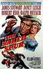 The Naked Spur (1953) cover