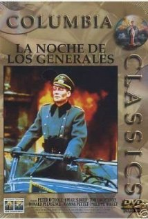 The Night of the Generals (1967) cover