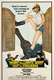 The Night the Lights Went Out in Georgia 1981 poster