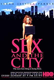 Sex and the City 1998 poster