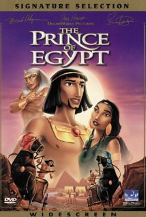 The Prince of Egypt (1998) cover