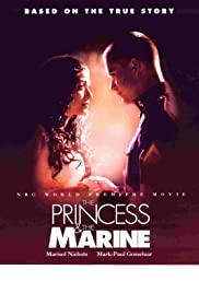 The Princess & the Marine 2001 poster